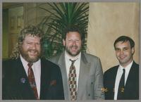 Lynn Seaton, Jeff Hamilton, and Larry Fuller [photograph, front]