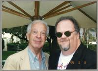 Bobby Rosengarden and unknown man [photograph, front]