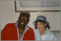Joe Williams and Nelma Fillius [photograph, front]