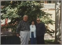 Milton Fillius Jr., Nelma Fillius, and Kenny Davern [photograph, front]