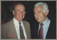 George Masso and Jack Lesberg [photograph, front]