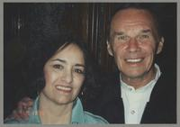 Annie Vetoyanis Tompkins and Ross Tompkins [photograph, front]