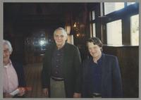 Jack Lesberg, Dave McKenna, and Gray Sargent [photograph, front]