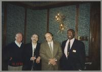 George Masso, Kenny Davern, Warren Vache, and Eddie Jones [photograph, front]