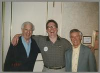 Bobby Rosengarden, Donald Fillius, and Derek Smith [photograph, front]