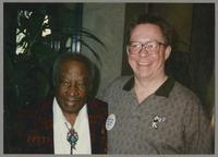 Milt Hinton and Donald Fillius [photograph, front]