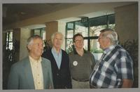 Derek Smith, Bobby Rosengarden, Donald Fillius, and Milton Fillius Jr. [photograph, front]