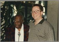 Milt Hinton and Donald Fillius [photograph, front]