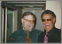 Lew Tabackin and Plas Johnson [photograph, front]