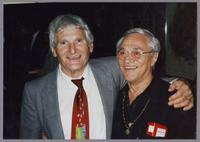 Conte Candoli and Terry Gibbs [photograph, front]