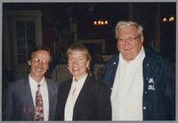 Monk Rowe, Rebecca Kilgore, and Milt Fillius Jr. [photograph, front]