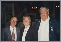 Monk Rowe, Rebecca Kilgore, and Milt Fillius Jr. [photograph, front]