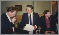 Hal Smith, Dan Barrett, and Keith Ingham [photograph, front]