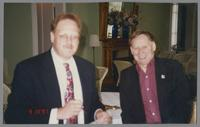 Hal Smith and Keith Ingham [photograph, front]