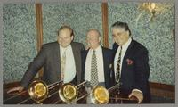 John Allred, George Masso, and Dan Barrett [photograph, front]