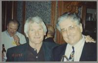 Conte Candoli and Dan Barrett [photograph, front]