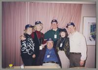 Karen Robinson, Kristine Fillius, Milton Fillius Jr., Fillius, Tony, Nelma Fillius, and Donald Fillius [photograph, front]