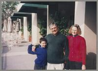 Young boy, Dan and Laura Barrett [photograph, front]
