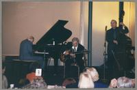 Dave McKenna, Bucky Pizzarelli, and Jay Leonhart [photograph, front]