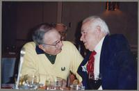 Bucky Pizzarelli and Johnny Best [photograph, front]