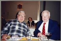 Milt Fillius Jr. and Johnny Best [photograph, front]