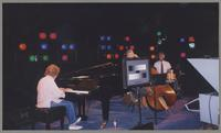Marian McPartland, Bob Magnusson, and Jim Plank [photograph, front]