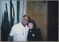 Clark Terry and Nelma Fillius [photograph, front]