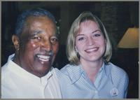 Ray Brown and Kristin Korb [photograph, front]