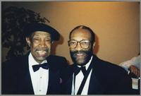 Al Grey and Hank Crawford [photograph, front]