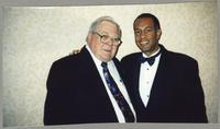Milt Fillius Jr. and John Clayton [photograph, front]
