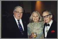 Milt Fillius Jr., Pug Horton, and Bob Wilber [photograph, front]