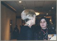 Elsa Davern and unknown woman [photograph, front]