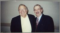 Bucky Pizzarelli and Kenny Davern [photograph, front]