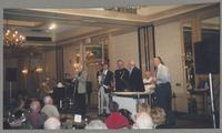 Ralph Sutton, Jim Galloway, Dave Stone, Dan Barrett, Tommy Newsom, Jake Hanna, and John Cocuzzi [photograph, front]