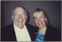 Bucky Pizzarelli and Rebecca Kilgore [photograph, front]