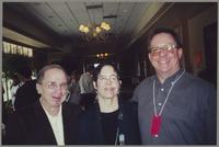 Ed Polcer, Julie Thomas, and Donald Fillius [photograph, front]