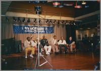 Milt Hinton, Ralph Sutton, Joe Williams, Jay McShann, Gus Johnson, and John Eaton [photograph, front]