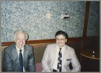 Bob Rosengarden and Dan Barrett [photograph, front]