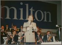 Dick Johnson and Artie Shaw Orchestra [photograph, front]