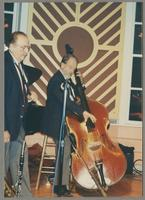 Phil Bodner and Bill Crow [photograph, front]