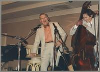 Marty Grosz and Greg Cohen [photograph, front]