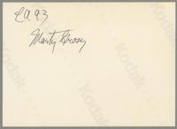 Marty Grosz and Greg Cohen [photograph, back]