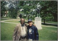 Milt Hinton and Joe Bushkin [photograph, front]