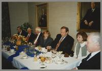 Ralph Sutton, Robert Steamer, Bob Haggart, Janie Bassett, Warren Vaché, Mary Kopcza, and Bobby Rosengarden [photograph, front]