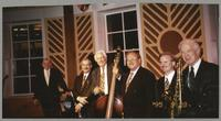 Ralph Sutton, Kenny Davern, Bob Haggart, Warren Vaché, Scott Hamilton, and Bobby Rosengarden [photograph, front]