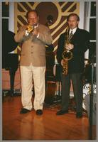 Warren Vaché and Scott Hamilton [photograph, front]