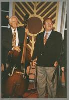 Bob Haggart and Warren Vaché [photograph, front]