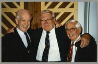 Bobby Rosengarden, Milt Fillius Jr., and Robert Steamer [photograph, front]