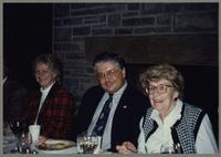 Karen Fillius, Dan Barrett, and unknown woman [photograph, front]