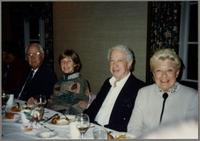 Bob Haggart, Sharon and Bobby Rosengarden, and unknown woman [photograph, front]